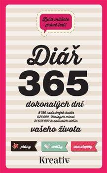 Obálka titulu Kreativ – Diář 365 dokonalých dní