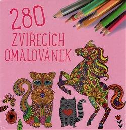 Obálka titulu 280 zvířecích omalovánek
