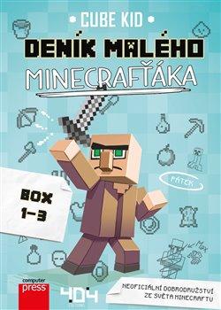 Obálka titulu Deník malého Minecrafťáka BOX 1-3