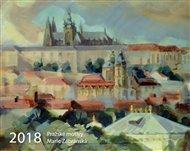 Kalendář 2018 - Pražské motivy
