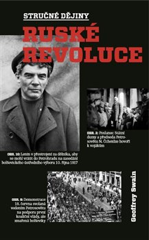 Obálka titulu Stručné dějiny ruské revoluce