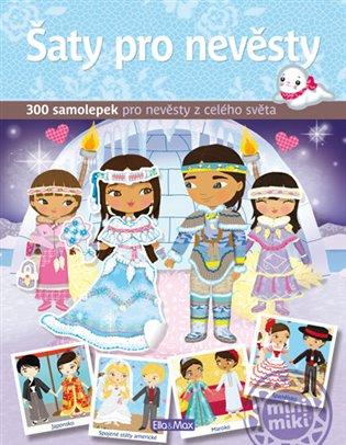 Šaty pro nevěsty:300 samolepek pro nevěsty z celého světa - - | Booksquad.ink