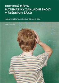 Kritická místa matematiky základní školy v řešení žáků
