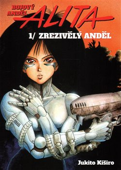 Obálka titulu Bojový anděl Alita 1 - Zrezivělý anděl