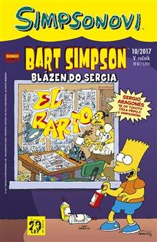 Obálka titulu Bart Simpson 10/2017: Blázen do Sergia