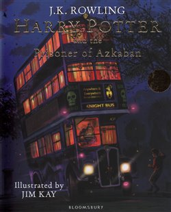 Obálka titulu Harry Potter and the Prisoner of Azkaban : Illustrated Edition