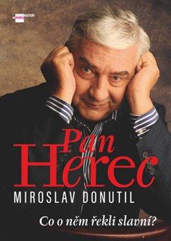 Obálka titulu Pan Herec Miroslav Donutil