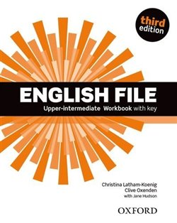 Obálka titulu English File Third Edition Upper Intermediate Workbook with Answer Key