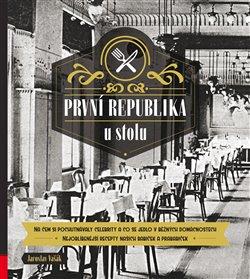Obálka titulu První republika u stolu