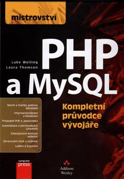 Obálka titulu Mistrovství - PHP a MySQL