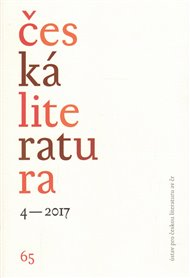 Česká literatura 4/2017