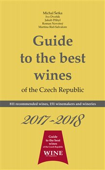 Obálka titulu Guide to the best wines of the Czech Republic 2017-2018
