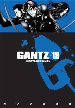 Obálka titulu Gantz 18
