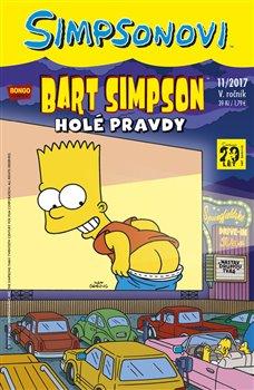 Obálka titulu Bart Simpson 11/2017: Holé pravdy