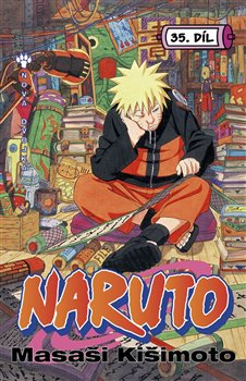 Obálka titulu Naruto 35: Nová dvojka