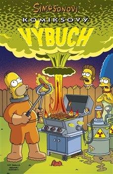 Obálka titulu Simpsonovi: Komiksový výbuch