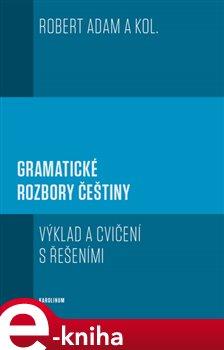 Obálka titulu Gramatické rozbory češtiny