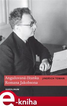 Obálka titulu Angažovaná čítanka Romana Jakobsona