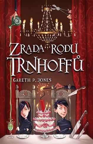 Zrada rodu Trnhoffů - Gareth P. Jones | Booksquad.ink