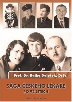Obálka titulu Sága českého lékaře po 92 letech