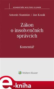 Obálka titulu Zákon o insolvenčních správcích