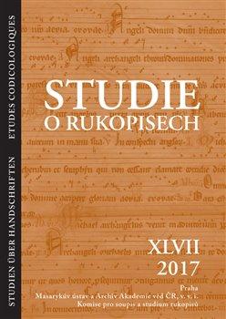 Obálka titulu Studie o rukopisech 47