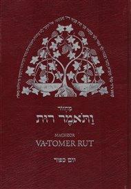 Machzor Va-tomer Rut. 2.díl Jom kipur