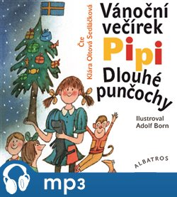Obálka titulu Vánoční večírek Pipi Dlouhé punčochy