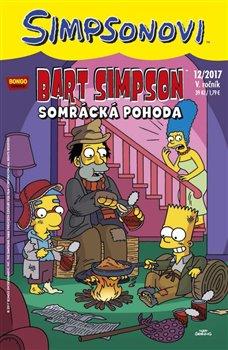 Obálka titulu Bart Simpson 12/2017: Somrácká pohoda