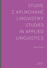 Studie z aplikované lingvistiky - Special issue 2017