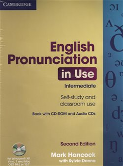 Obálka titulu English Pronunciation in Use Intermediate with Answers, Audio Cds 4 and Cd-rom