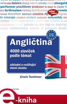 Angličtina 4000 slovíček podle témat. základní a rozšiřující slovní zásoba - Ervin Tschirner e-kniha