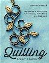 Obálka knihy Quilling, šperky z papíru
