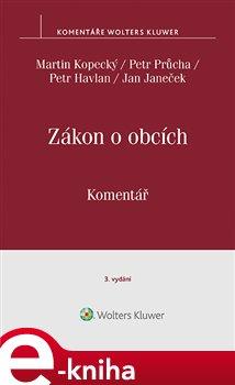 Obálka titulu Zákon o obcích (č. 128/2000 Sb.). Komentář