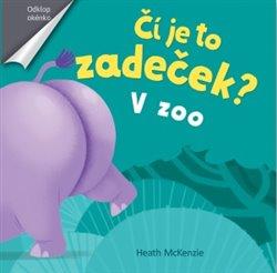 Obálka titulu V zoo - Čí je to zadeček?