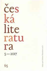 Česká literatura 5/2017