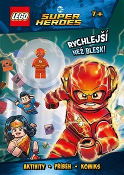 Obálka titulu Lego DC Super Heroes: Rychlejší než blesk!