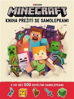 Obálka titulu Minecraft - Kniha přežití se samolepkami