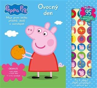 Peppa Pig - Moje první knížka příběhů a aktivit:Ovocný den - - | Booksquad.ink