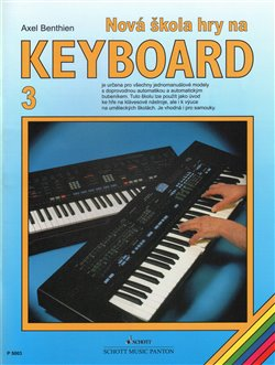 Obálka titulu Nová škola hry na keyboard 3
