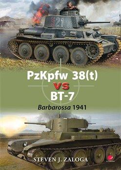 Obálka titulu PzKpfw 38(t) vs BT-7