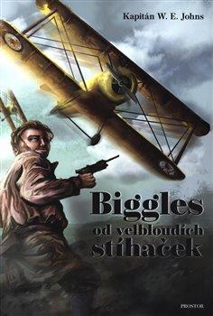 Obálka titulu Biggles od velbloudích stíhaček