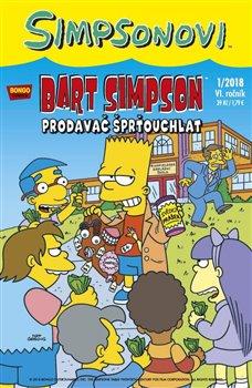Obálka titulu Bart Simpson 1/2018: Prodavač šprťouchlat