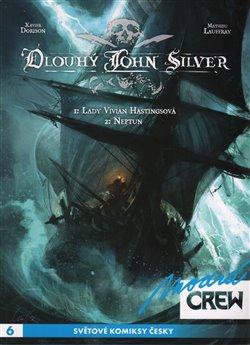 Obálka titulu Modrá CREW 6: Dlouhý John Silver 1+2