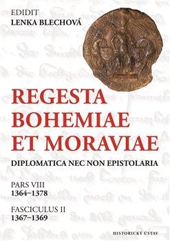 Obálka titulu Regesta Bohemiae et Moraviae diplomatica nec non epistolaria