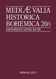 Mediaevalia Historica Bohemica 20/1