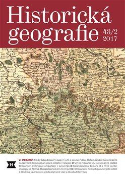Obálka titulu Historická geografie 43/2 2017