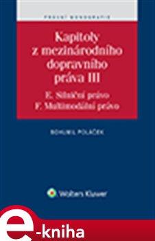 Obálka titulu Kapitoly z mezinárodního dopravního práva III
