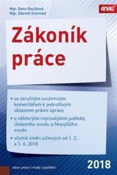 Obálka titulu Zákoník práce 2018 (sešitové vydání)