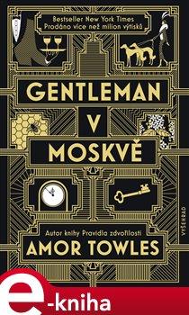 Obálka titulu Gentleman v Moskvě